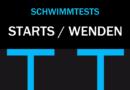 Schwimm-Tests für bessere Starts und Wenden