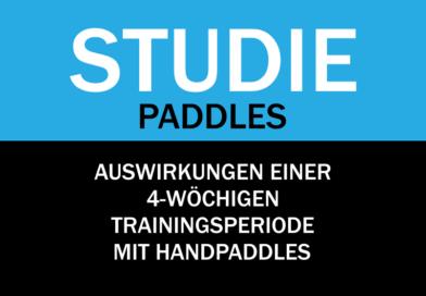 Studie: Schwimmtraining mit Handpaddles