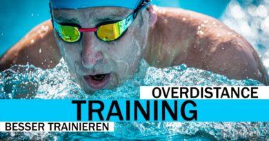 Schneller Schwimmen durch Überdistanz-Training