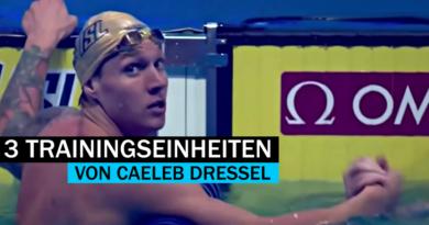 INSIDE: 3 Trainingseinheiten von Caeleb Dressel