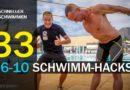 Schneller Schwimmen #33: 6-10 Schwimmhacks für bessere Leistungen