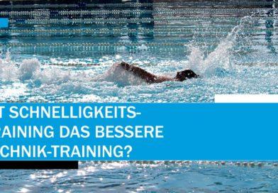 Ist Schnelligkeits-Training das bessere Technik-Training?