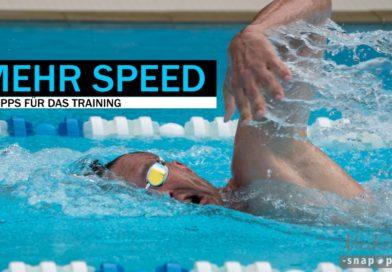 Vier Tipps für mehr Speed im Wasser