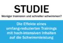 Studie: Die Effekte eines umfang-reduzierten Trainings mit hoch-intensiven Inhalten (HIIT)