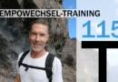 Trainingsplan #115: TEMPO-Wechsel-Training & GA1, 3.100 Meter
