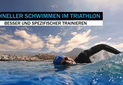 Triathlon & Schwimmen: So bringen Sie die Schwimmleistung nach oben