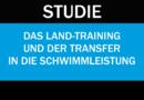 Studie: Übertragung des Krafttrainings auf die Schwimmleistung