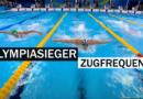 So schnell und oft ziehen die Schwimm-Olympiasieger