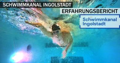 Schwimmkanal Ingolstadt: Besuch und Bericht